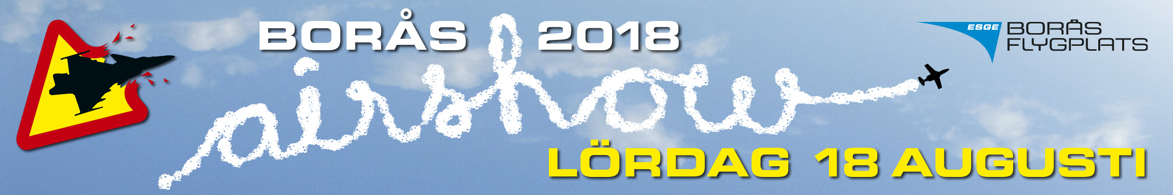 Borås Airshow 2018 header image